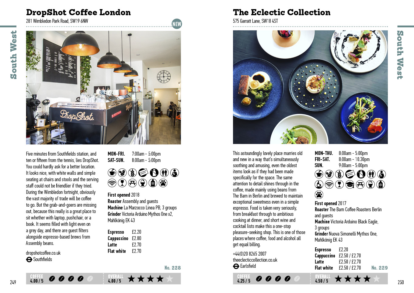 The London Coffee Guide 2019